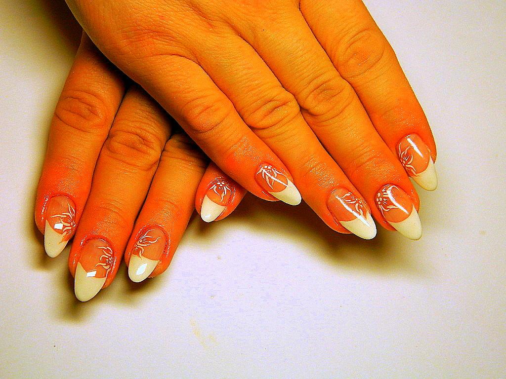 Дизайн ногтей с френчем смотреть